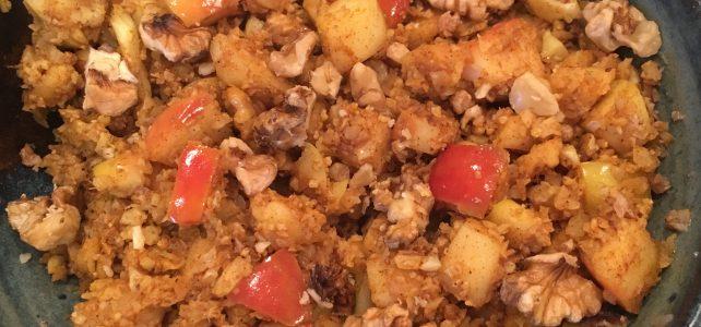 Apple Spice Cauliflower Rice